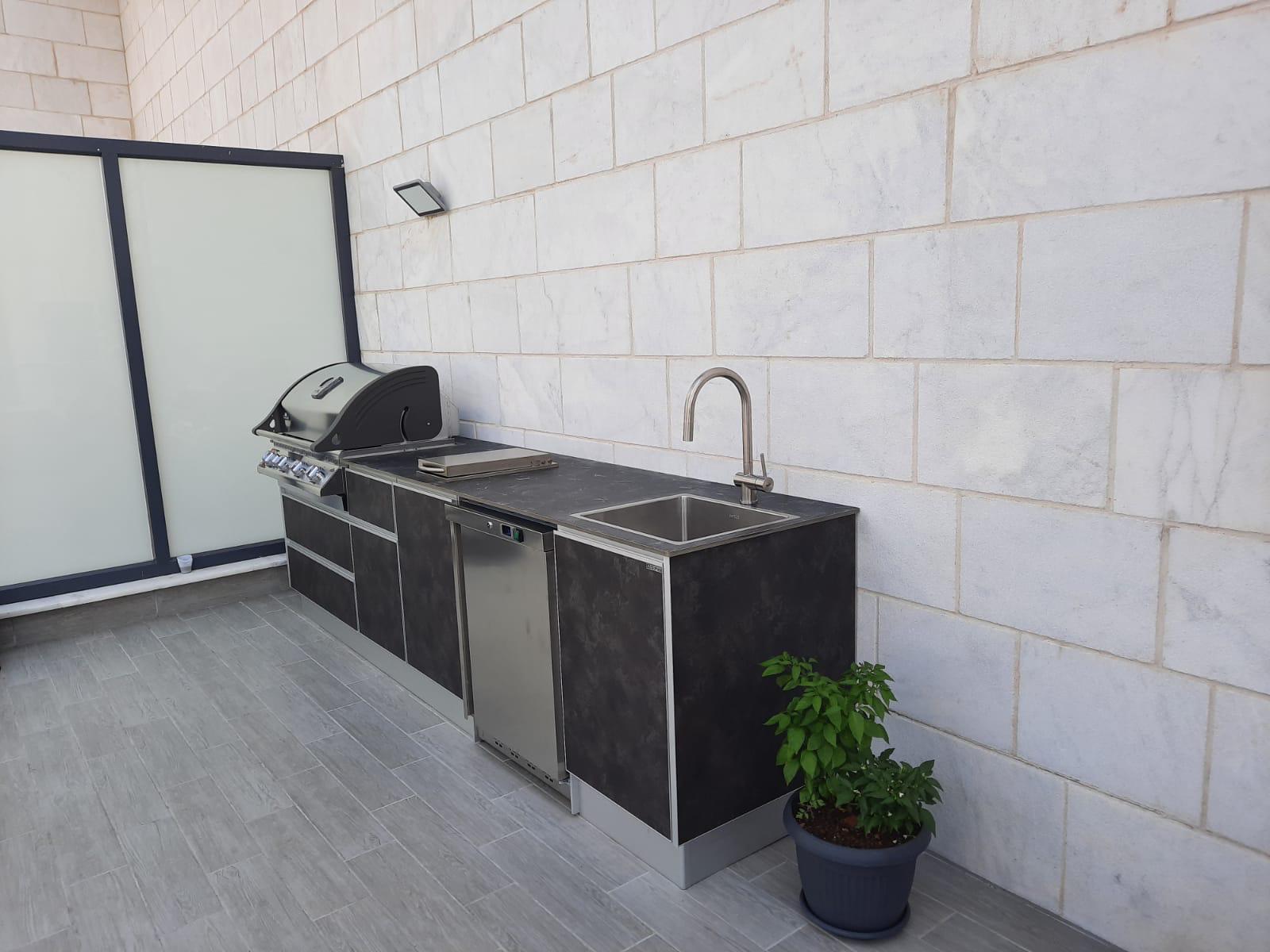מטבח חוץ מאולמיניום בחיפה